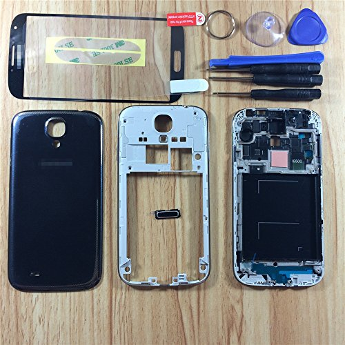 black-complete-full-housing-case-cover-frame-door-for-samsung-galaxy-s4-siv-i9500-front-glass-screen