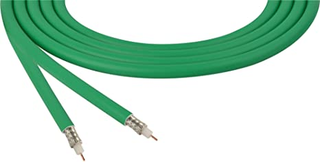 Amazon.com: Belden 1505F Rg59/21 Sdi Coaxial Cable - Green ...