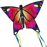 CIM Cometa de Mariposa - Butterfly PINK- Cometa de una sola línea para niños mayores de 3 años - 58 x 40 cm - incl. 20 m…