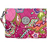 Vera Bradley Your Turn Smartphone Wristlet Pink Swirls
