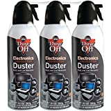 Falcon Compressed Gas (152a) Disposable Cleaning Duster 3 Count, 10 oz. Can (DPSXL3)