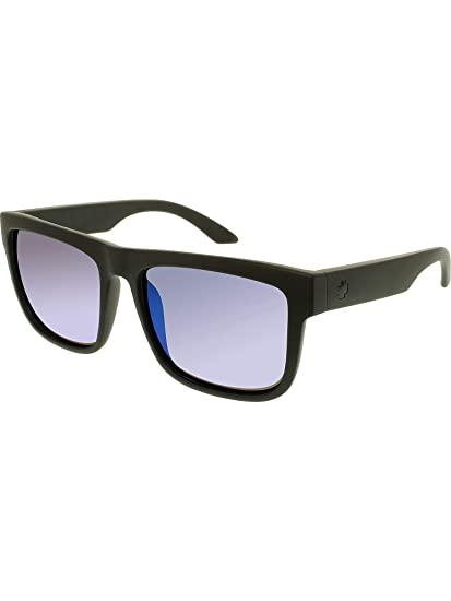 eb8ab4abfa Spy Discord Sunglasses - Polarized Matte Black Happy Bronze Blue Spectra
