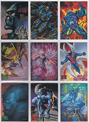 1995 Marvel Masterpieces Series IV Base Set of 151 Cards NM/M Spider-Man, X-Men