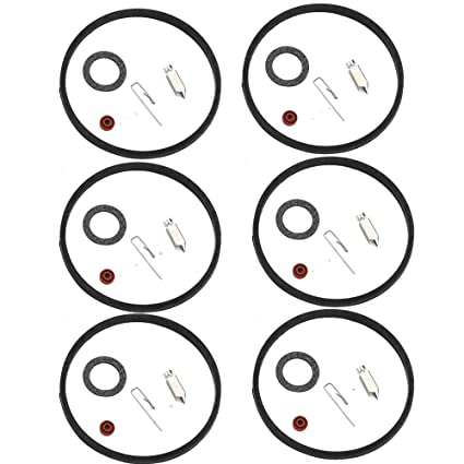 Amazon Com Dxent 6 Sets Carburetor Inlet Needle Kit Fit Tecumseh