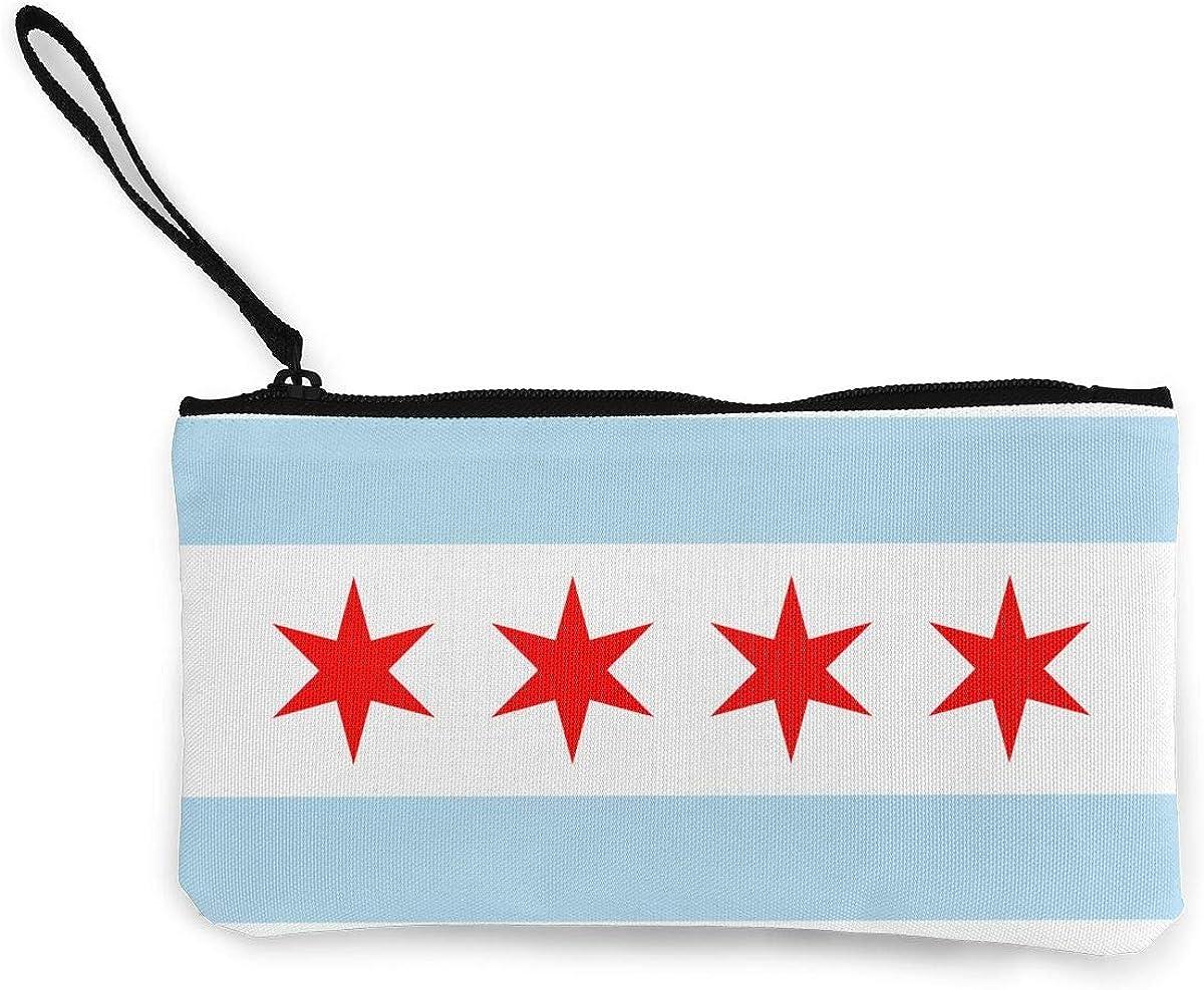 Chicago Flag Wallet Coin...
