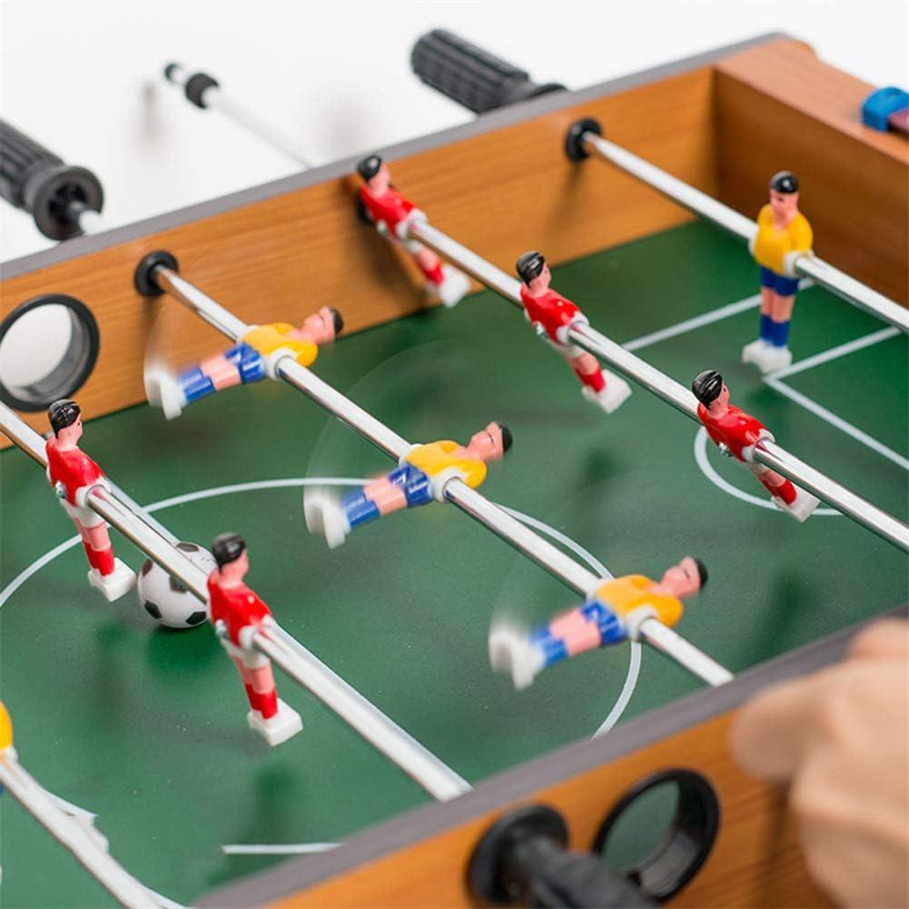 CHAO Mesa de futbolín, portátil, Divertida, Resistente y Duradera, Desmontable, fácil de Transportar, Salas de Juegos en el hogar, arcadas y Otras áreas de Entretenimiento: Amazon.es: Hogar