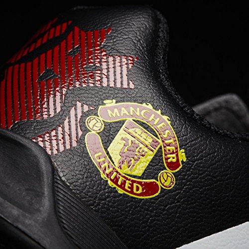 adidas Manchester United elástica encaje Bebés Trainer rojo escarlata