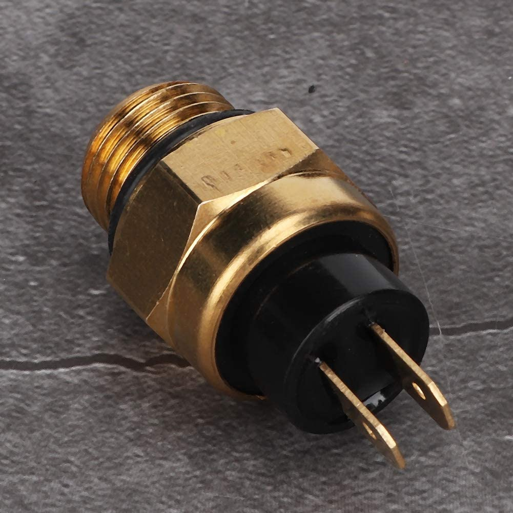 Aramox Auto Wassertank K/ühlerl/üfter Schalter Temperatursensor Schalter Stecker Fit f/ür CF125 CF500 CF625 CF800 CF250 CF15