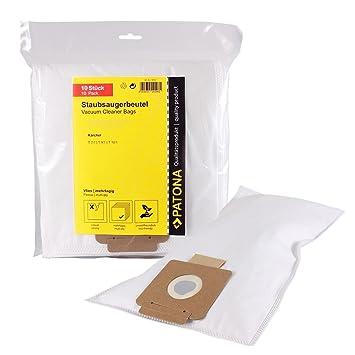 5x Staubsaugerbeutel geeignet Kärcher T15//1,1 6.907-017.0