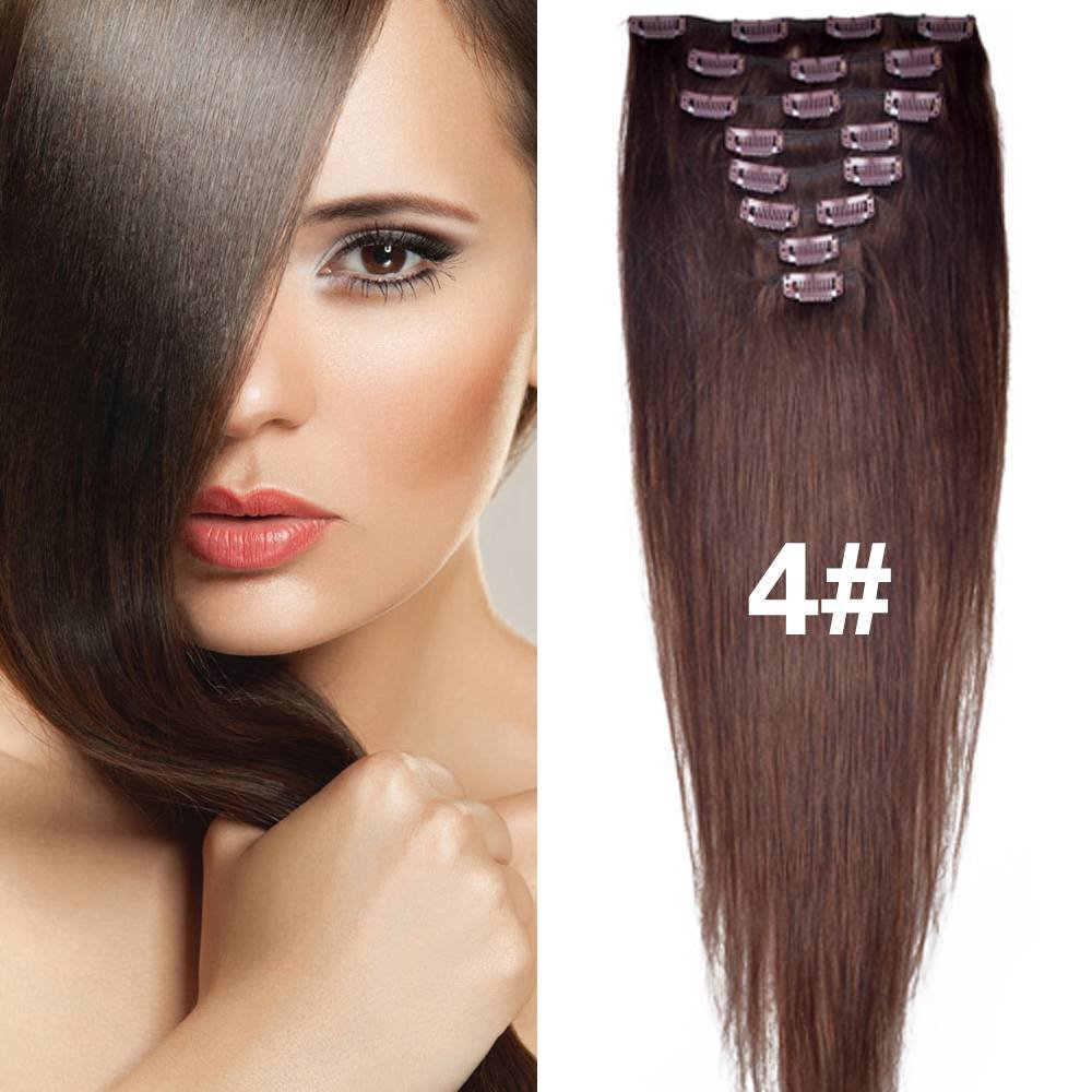 Buy Straight Remy Human Hair Extensions 24 Colors For Your Choose In 15inch 18inch 20inch 22inch Beauty Salon Womens Accessories 70g