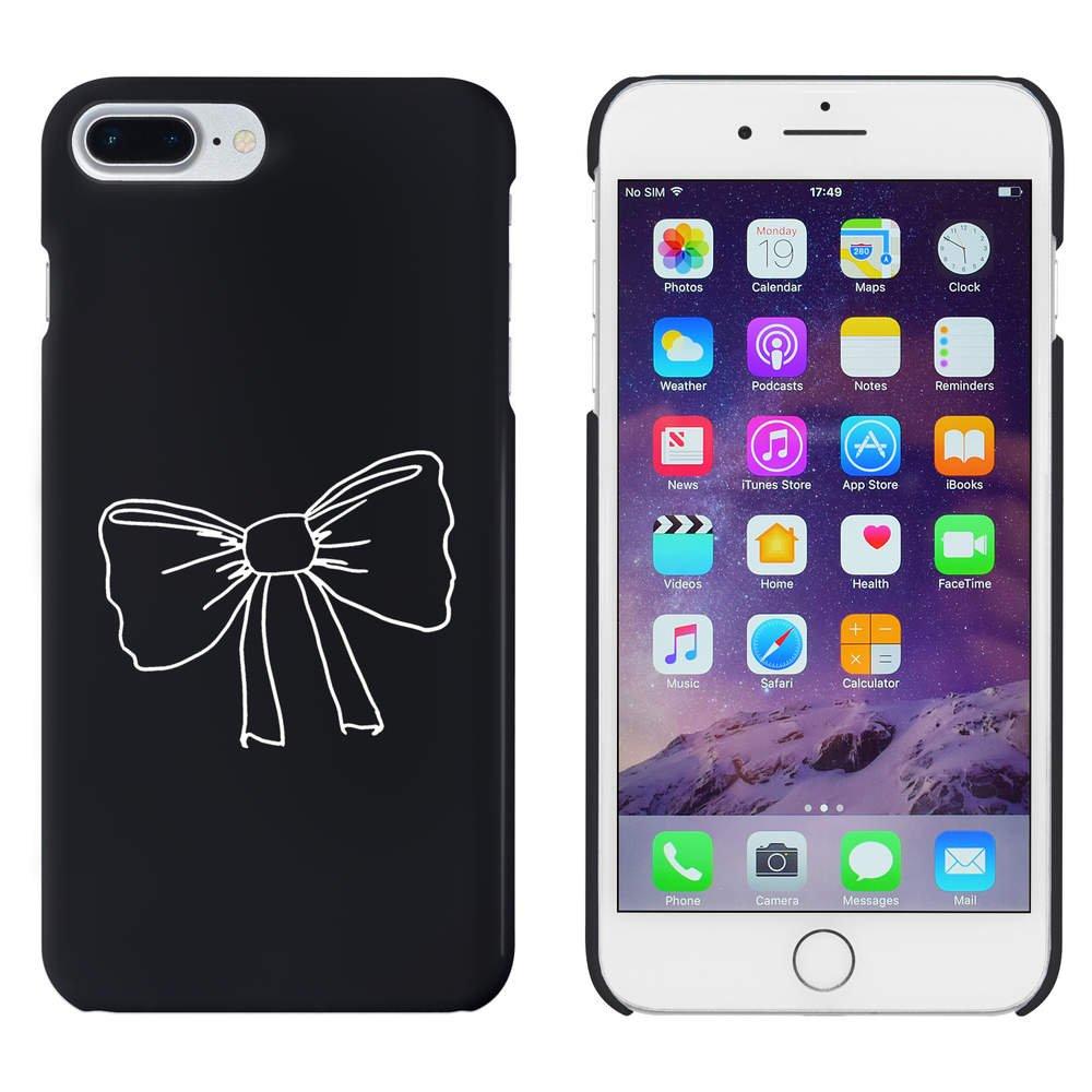 Azeeda Negro Corbata de Moño Funda / Carcasa para iPhone 7 Plus ...