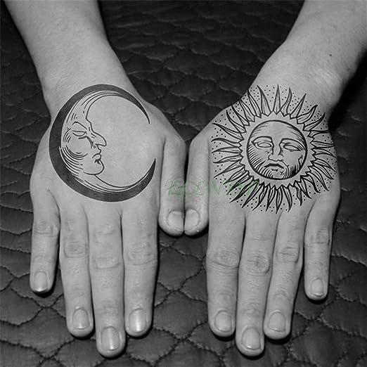 Handaxian 3pcsEtiqueta engomada del Tatuaje a Prueba de Agua Cool ...