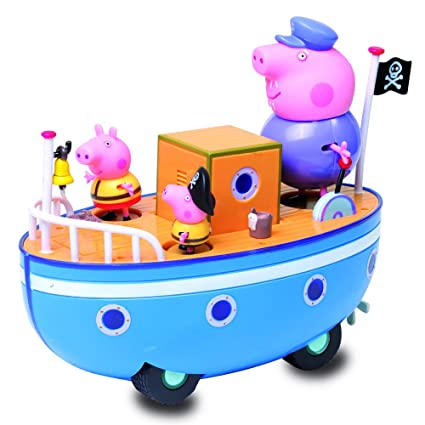 Amazon.com: Peppa Pig en el barco del abuelo: Toys & Games