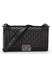 d904706040da CHANEL Cerise Quilted Lambskin Charms Flap Bag Small (Pre-Owned ...