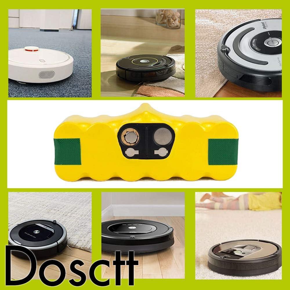 Dosctt 14,4V 4,5Ah Ni-MH Batteria Sostituzione per iRobot Roomba 500 600 700 800 Series 510 530 532 534 535 540 550 560 562 570 580 600 610 700 760 770 780 800