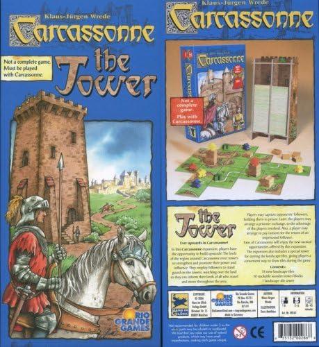 Carcassonne The Tower - Juego de mesa: Amazon.es: Juguetes y juegos