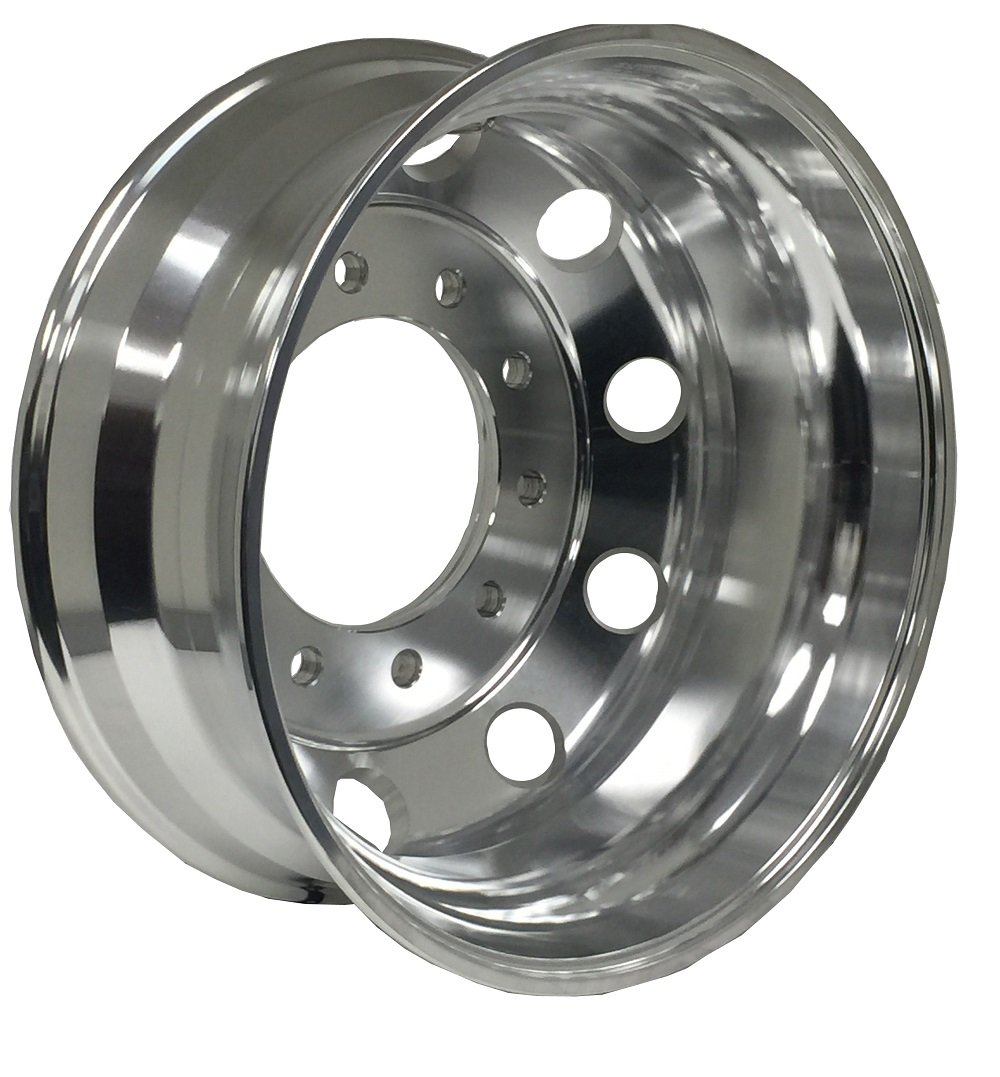 Aluminum Wheels A228203 22.5 x 8.25 10X285.75 Hub Pilot ALCOA STYLE MF-MACHINE FINISHED FOR ALL POSITION