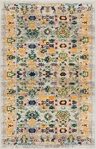 Well Woven LA-72-3 Laurent Shaw Vintage Traditional Cottage Multi 2'3