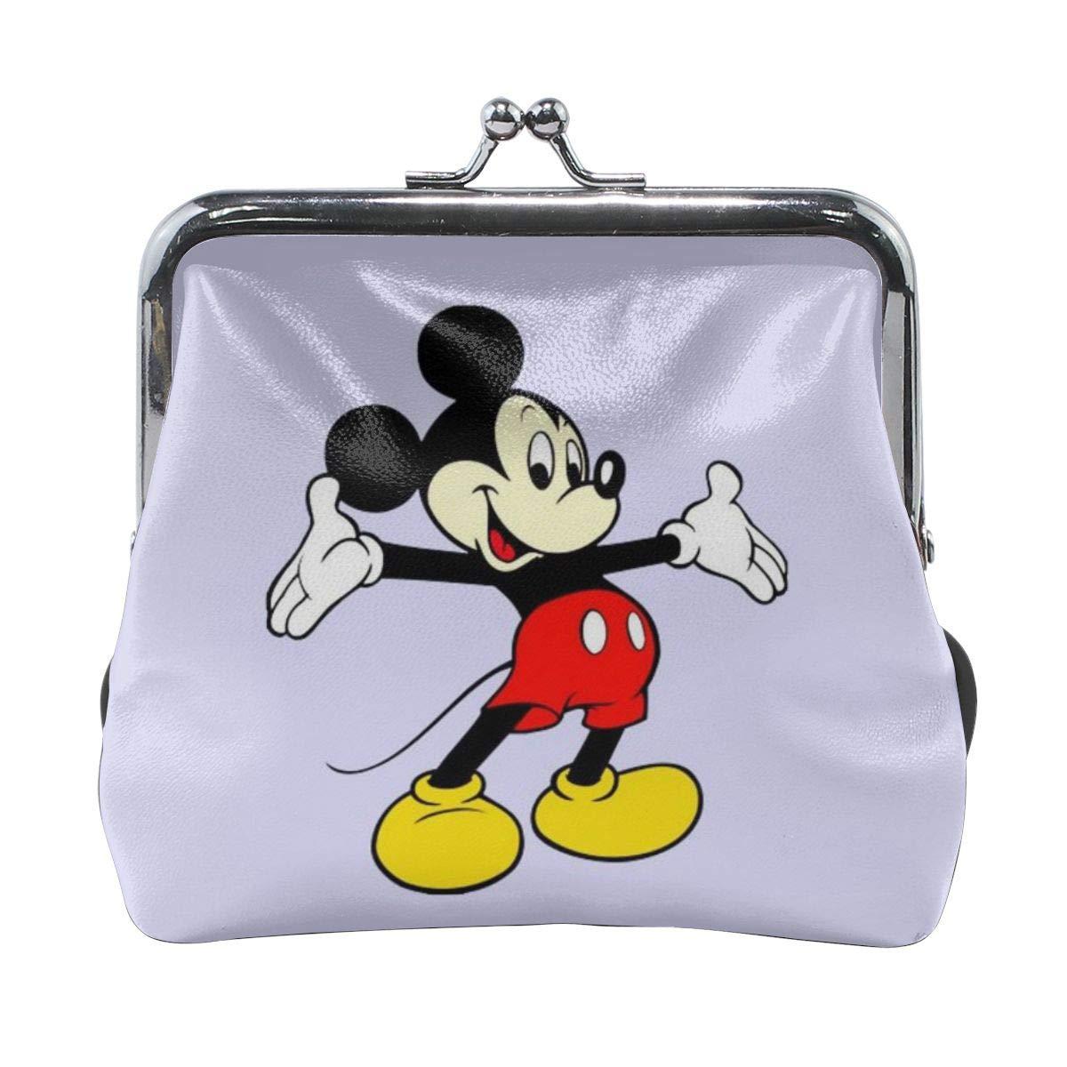 Monedero de Mickey Mouse con hebilla y cierre de beso ...