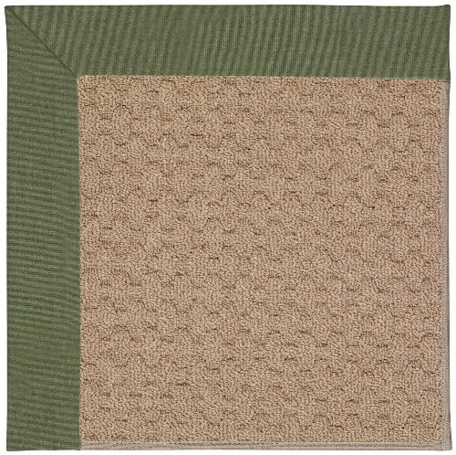 6' x 6' Octagonal Made-to-Order Oscar Isberian Rugs Area Rug Plant Green Color Machine Made USA