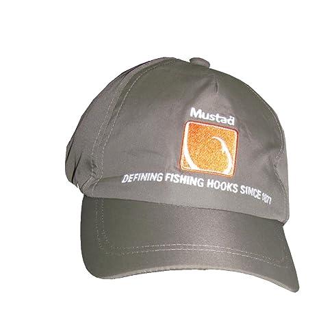 Mustad - Gorra de Microfibra, Color marrón, Talla única: Amazon.es ...