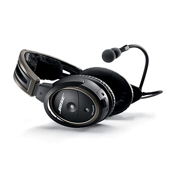 Amazon.com: Bose A20 Aviation Headset (Battery-powered w/Bluetooth ...