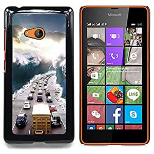 "Planetar ( Pollito Huevo Funny Farm"" ) Nokia Lumia 540 Fundas Cover Cubre Hard Case Cover"