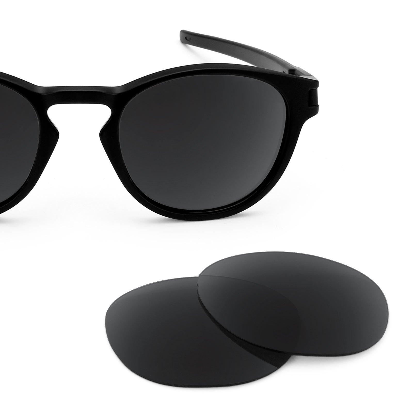 f89b15d907c Revant Polarized Replacement Lenses for Oakley Latch Elite Stealth Black