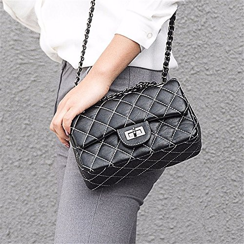 White And Spring Small White Summer Messenger Incense PU Classic Color FangYOU1314 Lingge Chain Bag Wind Shoulder Z5d4qgq