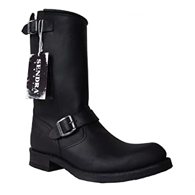 Sendra Boots 2944m black * incl. original MOSQUITO bootjack *