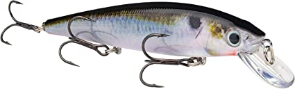 Strike King Hckvdj300-699 KVD Jerkbait 3 Hook Natural Shad for sale online