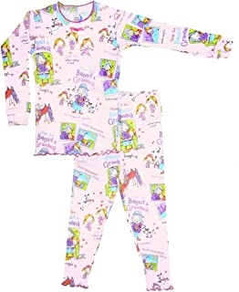 product image for Books to Bed Girls Pajamas - How to Baby Sit a Grandma Pajama & Book Set