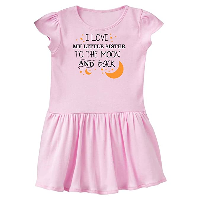 Amazoncom Inktastic I Love My Little Sister To The Moon Back
