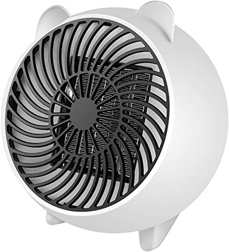 Amazon Com Soled Space Heater Fan Heater Personal Mini Space Heater Portable Electric Heaters Fan With Ptc Ceramic Heating Element Overheat Protection For Office Home Tabletop Under Desk Floor Indoor Use Home