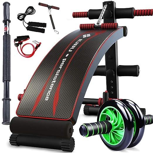 LXJYMX Banco de Ejercicios Abdominales Equipo de Fitness Abdomen ...