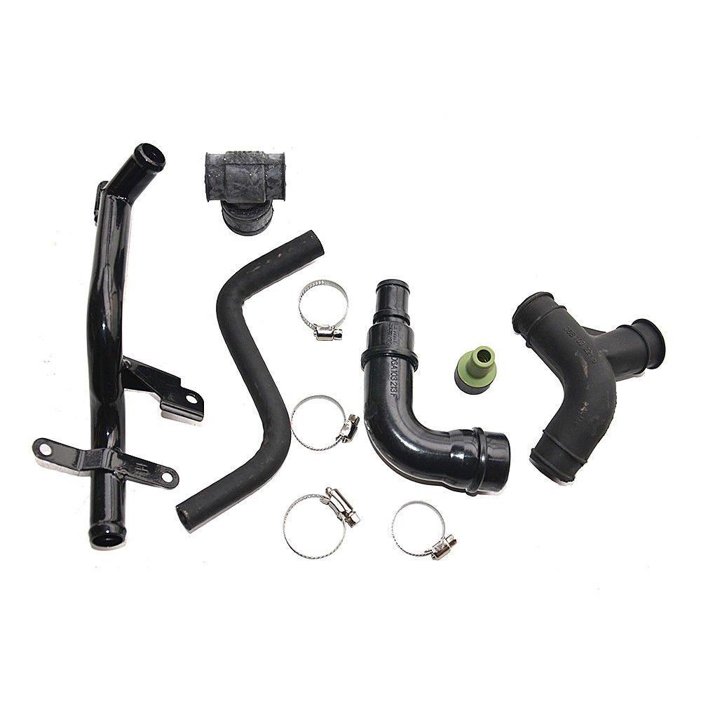 Engine Crankcase Breather Vent Hose Pipe Set for VW Passat B5 AUDI A4 A6 1.8T