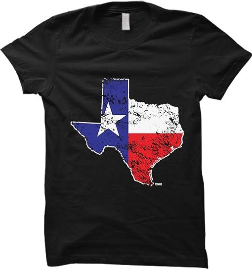 Amazoncom Texas State Map USA WOMENS Tshirt Clothing - State map of usa