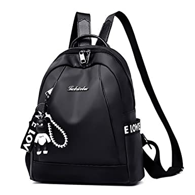 Image Unavailable. Image not available for. Color  Women Fashion Backpack  Purse Girl Lightweight School ... fe31dd5cf717e