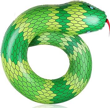 LHKJ Adultos Círculo De Natación PVC Piscina Inflable Serpiente ...