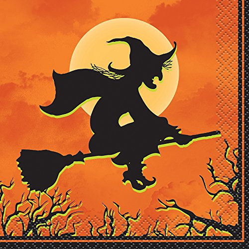 Haunted House Halloween Beverage Napkins, 24ct]()