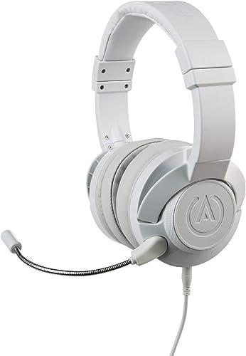 PowerA Fusion Auriculares Gaming con Micrófono Desmontable y Cable - Compatibles con PlayStation 4, Xbox (One, One X, One S, 360), Nintendo Switch, Mac, Android, IOS - Blanco: Amazon.es: Videojuegos