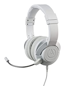 PowerA Fusion Wired Stereo Gaming Headset with Mic for PlayStation 4, Xbox One, X, Xbox One S, Xbox 360, Nintendo Switch, PC, Mac, VR, Android, and iOS - White - Xbox 360; Xbox