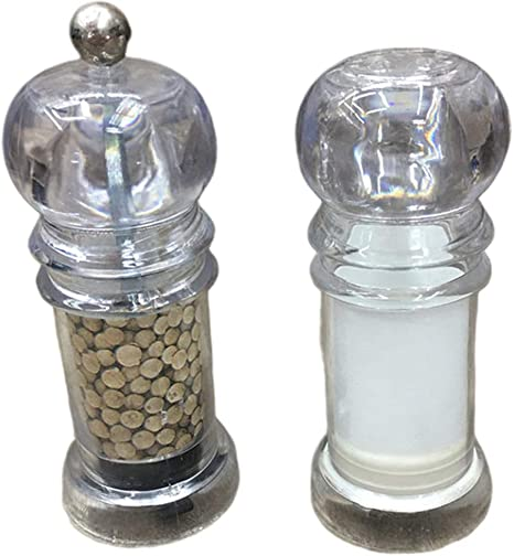 Strong Ceramic Core Solid Wood Manual Grinder Salt Pepper Mill Spice Bottle