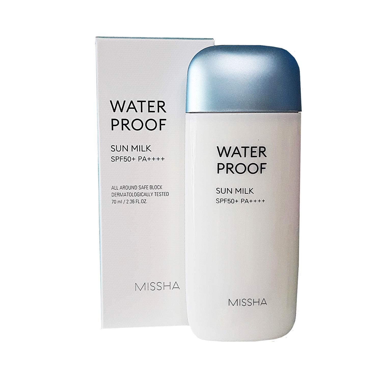 [MISSHA] All-around Safe Block Waterproof Sun Milk SPF50+ PA+++ 70ml