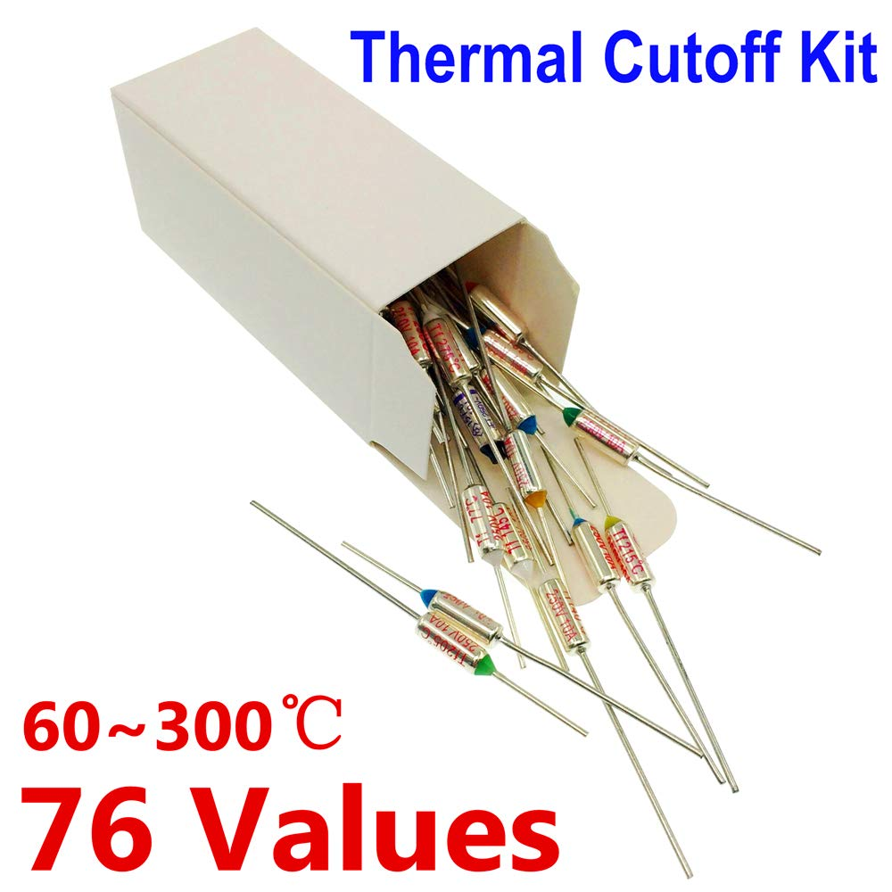 Thermal Fuse Thermal Cutoff Limiter 133c Degrees Celsius