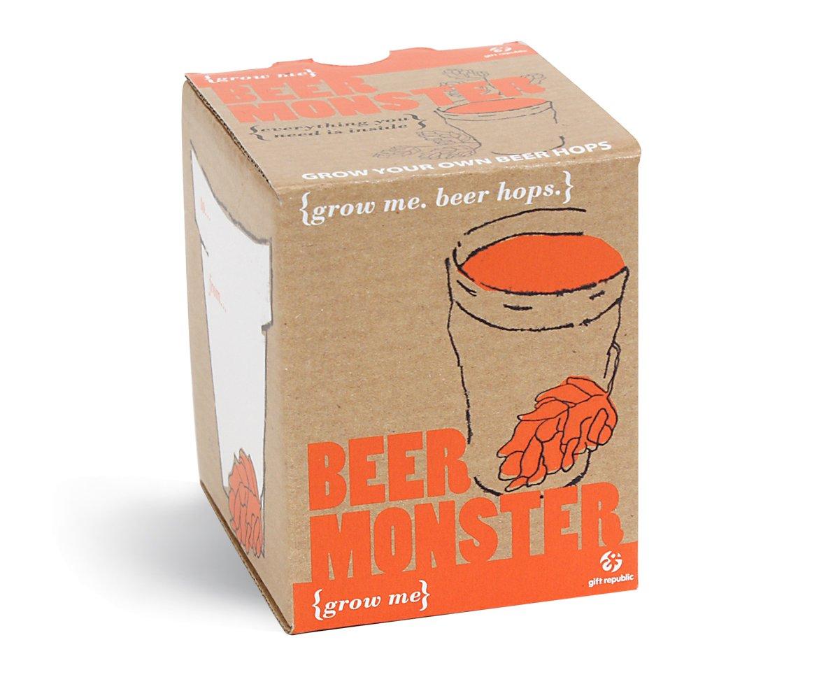 Grow Me Bier Monster - Hopfen Samen Gift Republic DCV17A