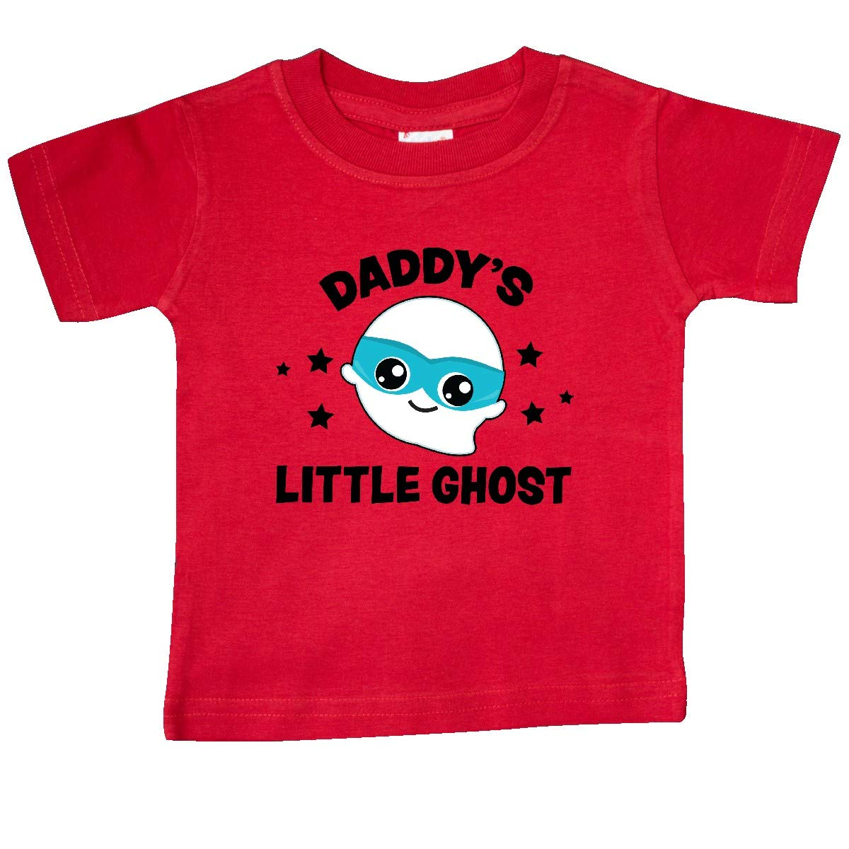 inktastic Cute Daddys Little Ghost with Stars Baby T-Shirt
