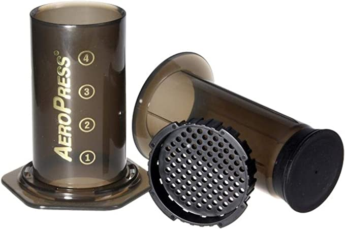Aerobie AeroPress – Cafetera de émbolo 1 – 3 tazas con filtro 350 ...