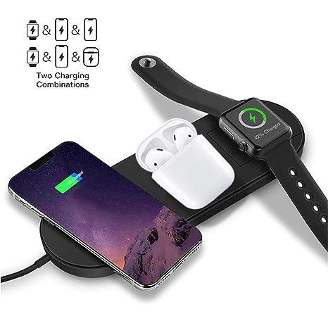 Amazon.com: Cargador inalámbrico para reloj y teléfono ...
