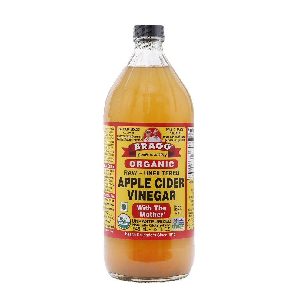 Bragg Organic, Raw, Unfiltered, with The Mother, Apple Cider Vinegar 32 oz (946 ml)